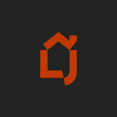 Logo Carte De Visite Panneaux Chantier Pour LJ Bati